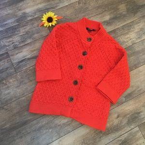 💜2/$20💜 Orange Boden short-sleeved sweater
